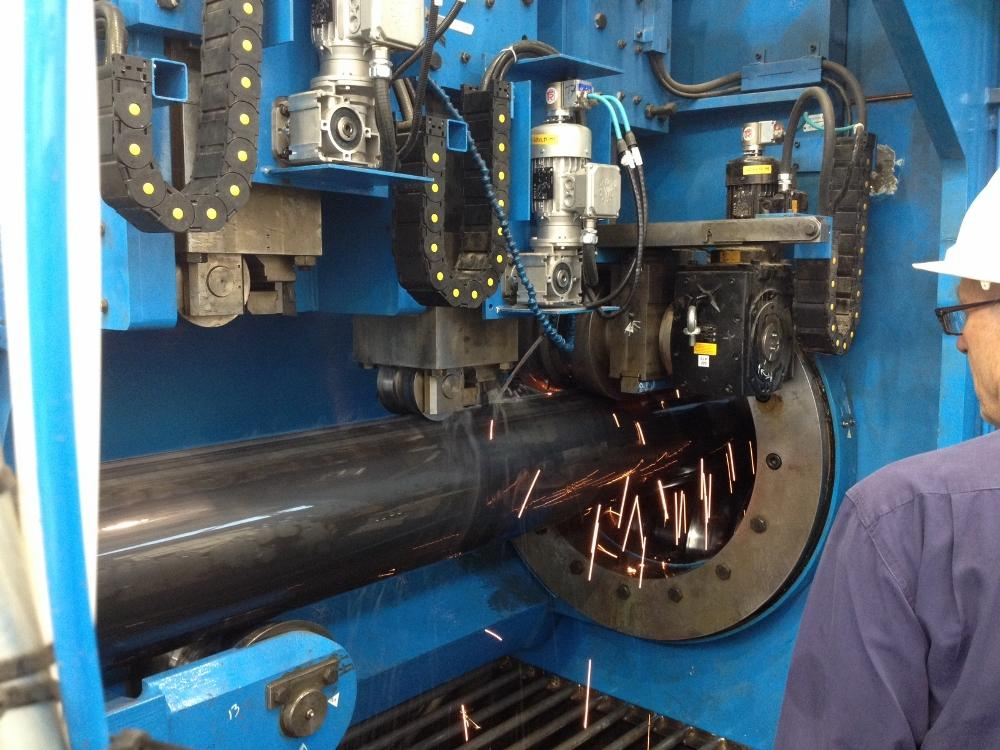 SMS Meer supplies pipe welding line to CSI - The Fabricator