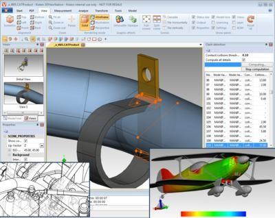 Software offers visualization analysis of large 3 d cad Cad models