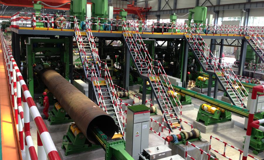 Spiral Pipe Welding Automation Drives Productivity The