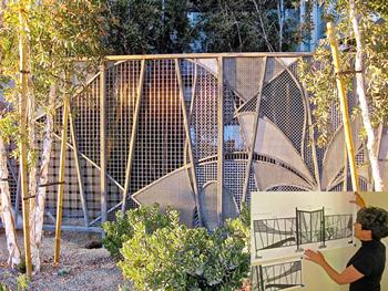 Stainless steel gates blend security, aesthetics - TheFabricator.com