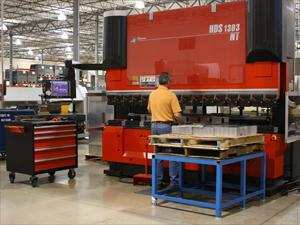 Streamlining press brake setups help transform a business - TheFabricator