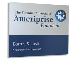 Ameriprise sign