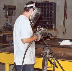 Ornamental railing fabrication