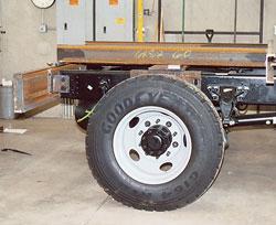 Suburban steel truck