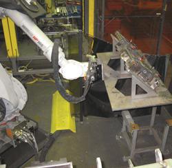 mounting fixtures robotic handling