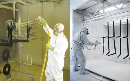 The Basics Of Liquid And Powder Coatings The Fabricator