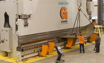The Big Job Of High Tonnage Bending The Fabricator