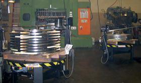 Palletized coils