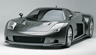 ME Four-Twelve concept car