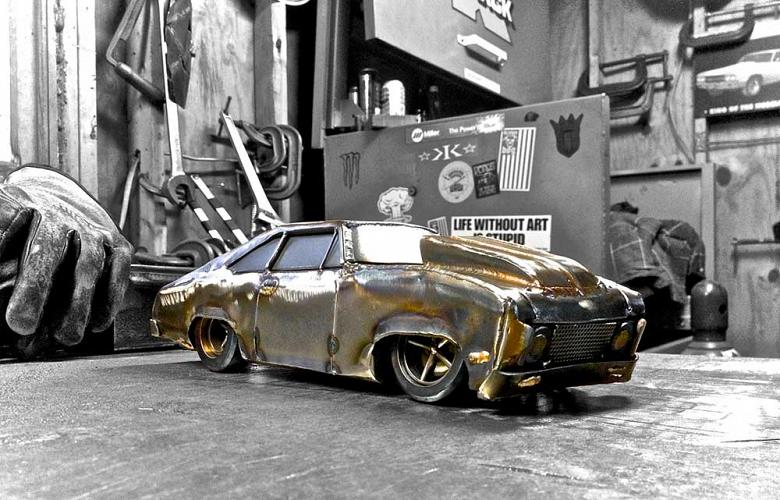 Miniature welded car