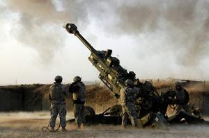 M777 lightweight howitzer