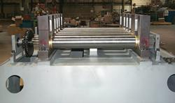 Partial straightener assembly
