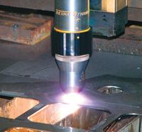 Plasma cutting image