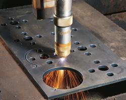 Mechanized plasma cutting figure 2
