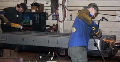 Southern Fabricators welders