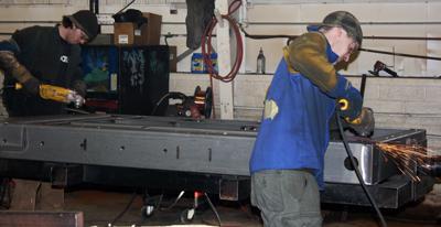 Southern Fabricators welders