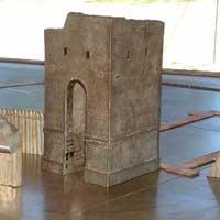 brick tower jamestown fort
