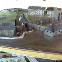 Jamestown Fort Model Figure 3