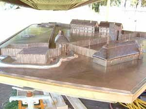 Jamestown Fort Model
