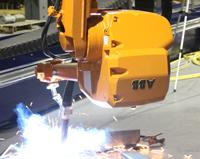 The robotic eye watches over heavy fabrication welding - TheFabricator.com
