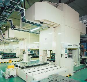 Komatsu H2F Series Servo Press