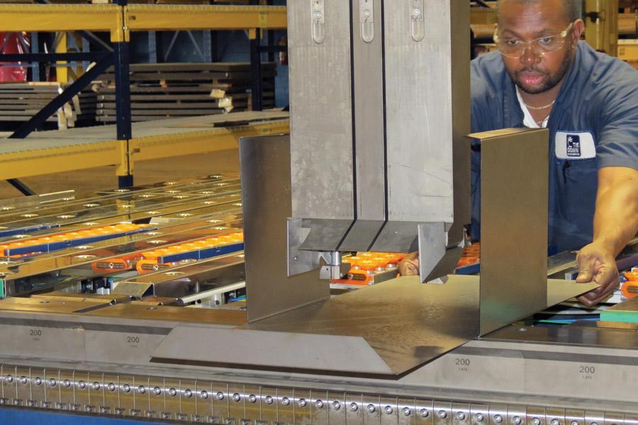 The Sheet Metal Bending Department Evolves