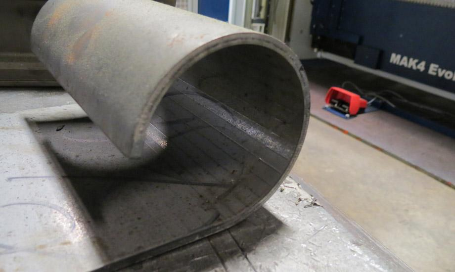The Sheet Metal Bending Department Evolves The Fabricator