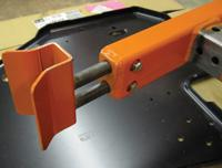 fixture aligns pin