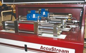AccuStream hydraulic center