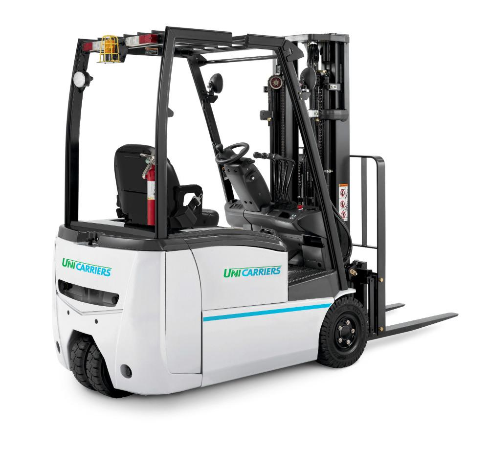 Three Wheel Electric Forklifts Introduced The Fabricator