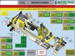 Automated tube bending software