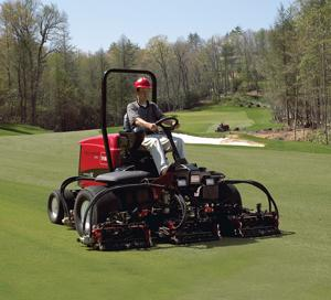Toro turf maintenance equipment