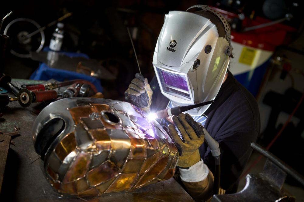 Training Your Off Hand For Tig Welding The Fabricator