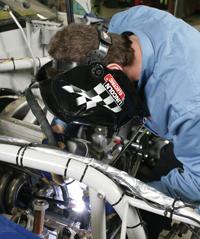 GTAW Weld Racecar