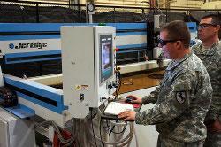 U.S. Army's Blackhorse Regiment installs Jet Edge waterjet system - TheFabricator.com