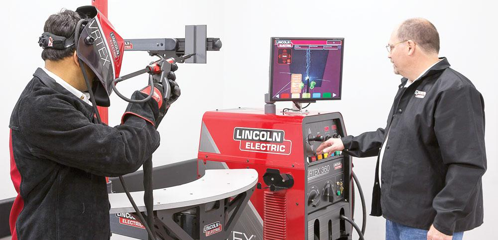 Using Virtual Reality Welding To Evaluate And Train