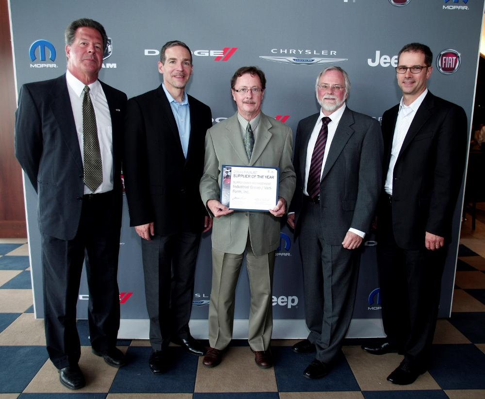 Vari-Form named by Chrysler Group as top-performing supplier ...