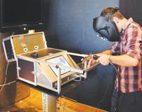 Arc welding simulator