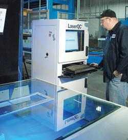 laser scanner quality inspection