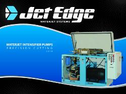 Waterjet intensifier pumps available in sizes from 30 to 200 HP - TheFabricator