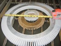 Waterjet cutting rings