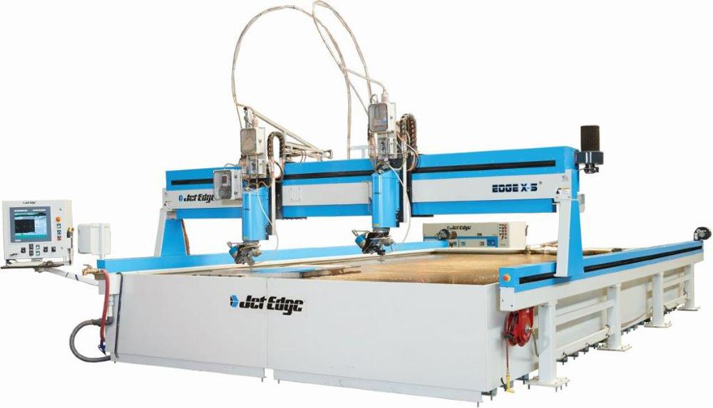 Waterjet System Produces Taper Free Finish The Fabricator