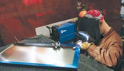 Tig welder steel