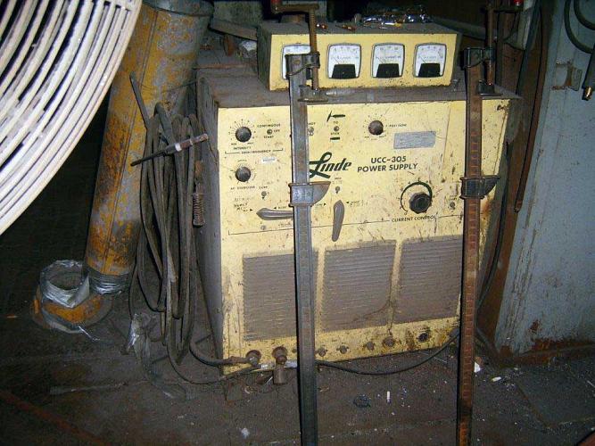 Linde Power Source Wire Feeder