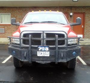Pipeliner's truck