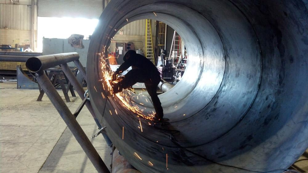 Welding Prep In Pressure Vessel Fabrication The Fabricator