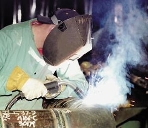 Image of a welder