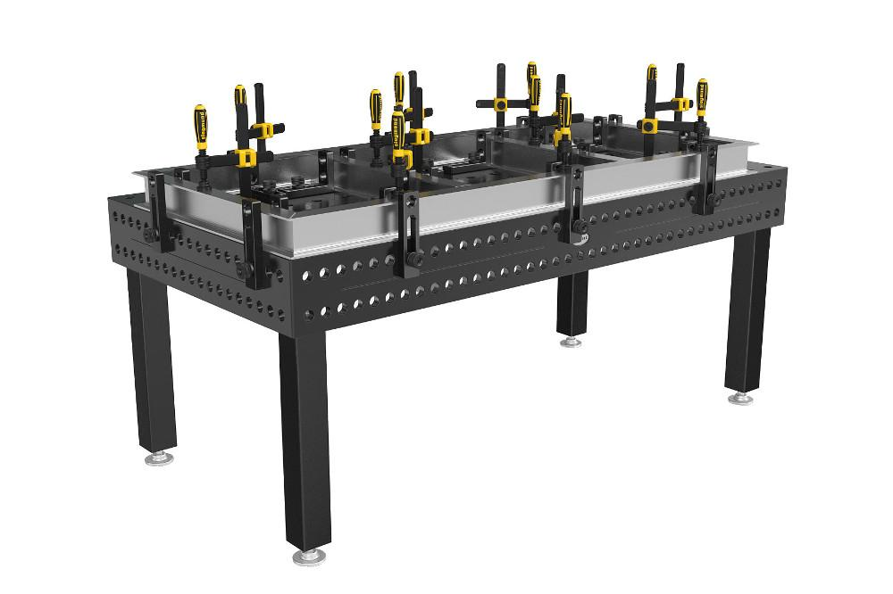 Welding Table Is Double hardened For Long Life The