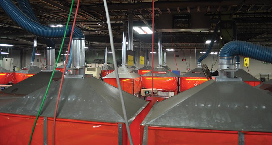 Welding Fume Extraction Systems : When fumes get out of control the fabricator