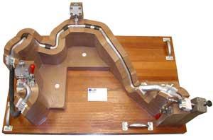 Full contour fixture tube fabrication